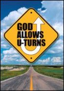 God Allows U-Turns (Pack Of 25) Booklet