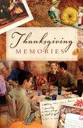 Thanksgiving Memories (25 Pack) Booklet