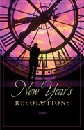 New Years Resolutions (25 Pack) Booklet