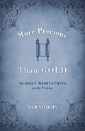 More Precious Than Gold Paperback