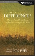 What's the Difference? (Study Guide) Paperback