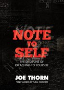 Note to Self Paperback