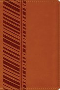 ESV Compact Bible Orange Track Design Imitation Leather