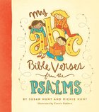 My ABC Bible Verses From the Psalms Hardback