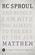 Matthew (St Andrew's Expositional Commentary Series) Hardback