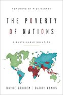 The Poverty of Nations: A Sustainable Solution Paperback