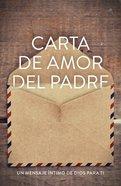 Carta De Amor Del Padre (25 Pack) ESV (Redesigned) (Father's Love Letter)