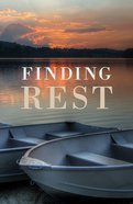 Finding Rest (ESV) (25 Pack) Booklet