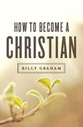 How to Become a Christian (KJV) (25 Pack) Booklet