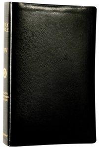 ESV Single Column Reference Bible Trutone Black