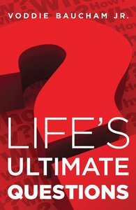 Lifes Ultimate Questions (Pack Of 25)