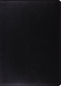 ESV Study Bible Black (Black Letter Edition)