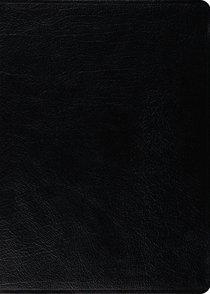 ESV Macarthur Study Bible Black (Black Letter Edition)