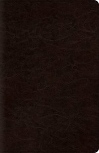 ESV Reference Bible Trutone Coffee Red Letter Edition