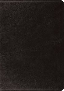 ESV Systematic Theology Study Bible Black (Black Letter Edition)