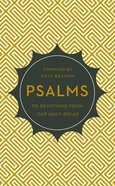 Psalms (Our Daily Bread Devotional Series)