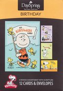 Boxed Cards Birthday: Peanuts Box