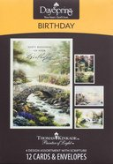 Boxed Cards Birthday: Thomas Kinkade - Painter of Light Box