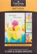 Boxed Cards Birthday: Blessed & Bright
