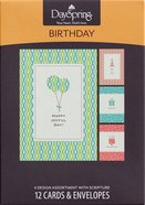 Boxed Cards Birthday: Happy Joyful Day Box