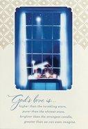 Christmas Boxed Cards: God's Love (Eph 3:18 Niv)