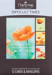 Boxed Cards Difficult Times: Strong