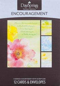 Boxed Cards Encouragement: Gods Refuge