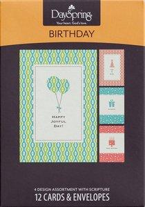 Boxed Cards Birthday: Happy Joyful Day