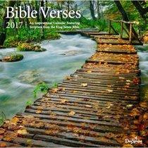 2017 Wall Calendar: Bible Verses