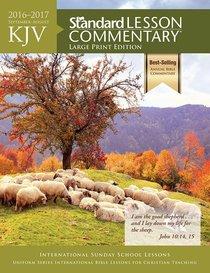 KJV 2016-2017 Standard Lesson Commentary Large Print Edition