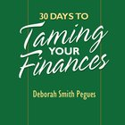 30 Days to Taming Your Finances eAudio