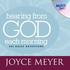 Hearing From God Each Morning eAudio