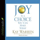 Joy is a Choice You Can Make Today eAudio