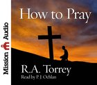 How to Pray eAudio