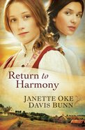 Return to Harmony Paperback