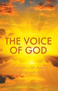 The Voice of God eBook