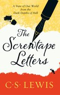The Screwtape Letters (60th Anniversary Edition)