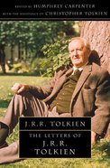 Letters From J R R Tolkien eBook