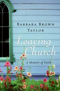 Leaving Church eBook