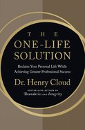 The One-Life Solution eBook
