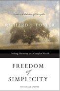 Freedom of Simplicity eBook