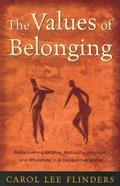 The Values of Belonging eBook