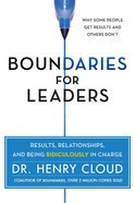 Boundaries For Leaders eBook