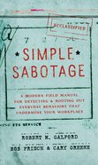 Simple Sabotage eBook