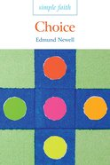 Choice (Simple Faith Series) eBook