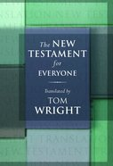 The New Testament For Everyone (Translation By Tom Wright) eBook