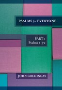 Psalms For Everyone (Old Testament Guide For Everyone Series) eBook