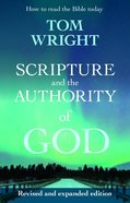 Scripture and the Authority of God eBook