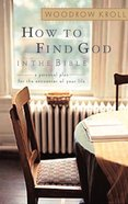 How to Find God in the Bible eBook