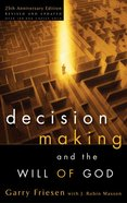 Decision Making and the Will of God eBook